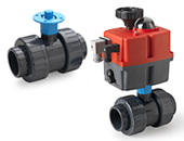 Valves with actuator